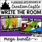Write the Room Alphabet and Monthly Mega Bundle