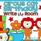 Write the Room {Circus Cat Birthday}