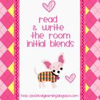 Write the Room Initial Blends
