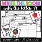 Write the Room: Letter A