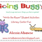 Write the Room Literacy Center - Going Buggy!