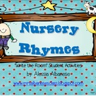 Write the Room Literacy Center - Nursery Rhymes