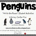 Write the Room Literacy Center - Penguins