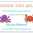 Write the Room Literacy Center Student Activities - Under the Sea