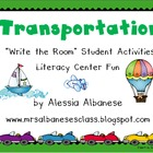 Write the Room Literacy Center - Transportation