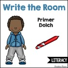 Write the Room - Primer Dolch Words