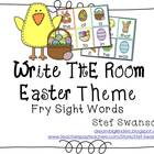 Write the Room Sight Words {Easter Theme}