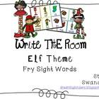 Write the Room Sight Words {Elf Theme}