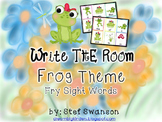 Write the Room Sight Words {Frog Theme}