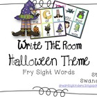 Write the Room Sight Words {Halloween Theme}