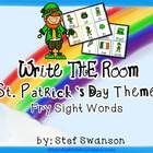 Write the Room Sight Words {St. Patrick's Day Theme}