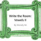Write the Room Vowels II