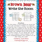 Write the Room with Brown Bear FREEBIE!
