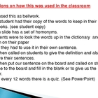 Write the right word with Homonyms