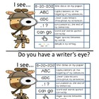 Writer's Eye Checklist
