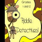 Writers Workshop Activity: Riddles