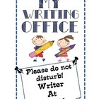 Writer's Workshop: Creating A Writing Office Printables
