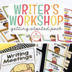 Writer's Workshop: Getting Started Pack