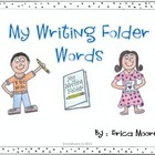 Writer&#039;s Workshop Individualized Spelling Reference Tri-fold