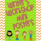 Writer's Workshop Mini Posters