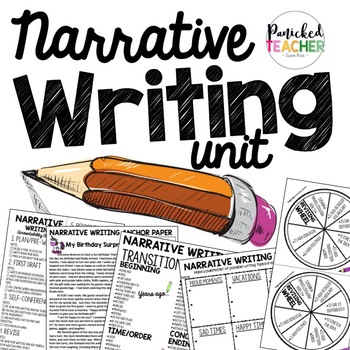Writer's Workshop Narrative Writing Resources