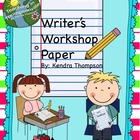 Writer&#039;s Workshop Paper
