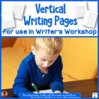 Writer&#039;s Workshop Vertical Paper