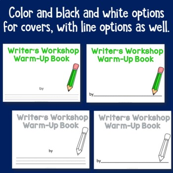 Writer's Workshop Warm Up Booklet