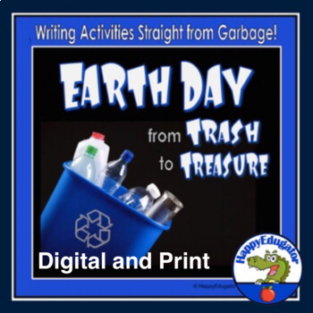 Writing Activities - Garbage Theme - From Trash to Treasure