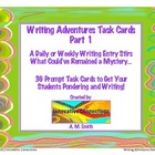 Writing Adventures Task Cards Part 1: 36 Prompts and Respo