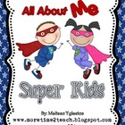 Writing: All About ME Super Kids