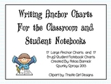 Writing Anchor Charts For the Classroom and Student Notebooks