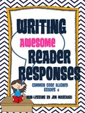 Writing Awesome Reader Responses! (Reader Response Activit