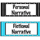 Writing Bulletin Board Labels