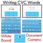 Writing CVC Words Practice Activity and Center Activity