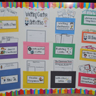 Writing Center Activities (Over 120 Common Core Writing Ac