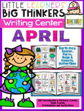 Writing Center April (162 Picture Cards)