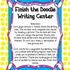 Writing Center: Finish the Doodle