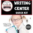 Writing Center Quick Kit: Common Core Writing Essential
