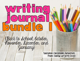 Writing Center Task Cards Bundle 1