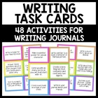 Writing Center Task Cards/Activities