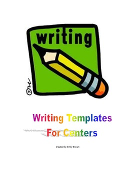 Writing Center Templates