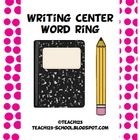 Writing Center Word Ring