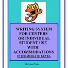 Writing Center for the Elementary Classroom with Accommodations