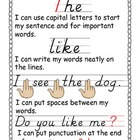 Writing Checklist for Beginning Writers FREEBIE
