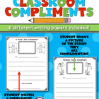 Writing Classroom Compliments - 6 Different Pages/Includin