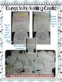 Writing Crafts: Guess Who! {Templates for All Year}
