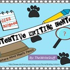 Writing Detectives Literacy Centers (Common Core Aligned)