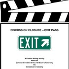 Writing: EXIT PASS