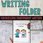 Writing Folder and Resources for Primary Students